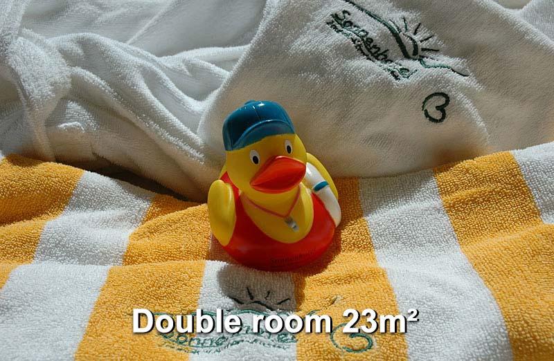 Double room 23m²