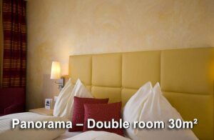 Panorama – Double room 30m²