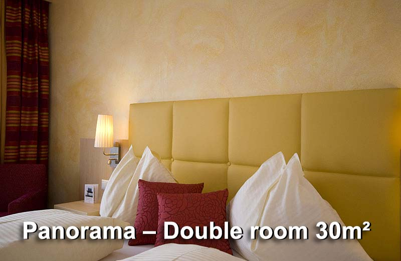 Panorama – Double room 30m²